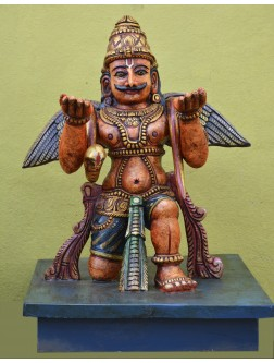 Garuda-The Divine Vahana of lord vishnu
