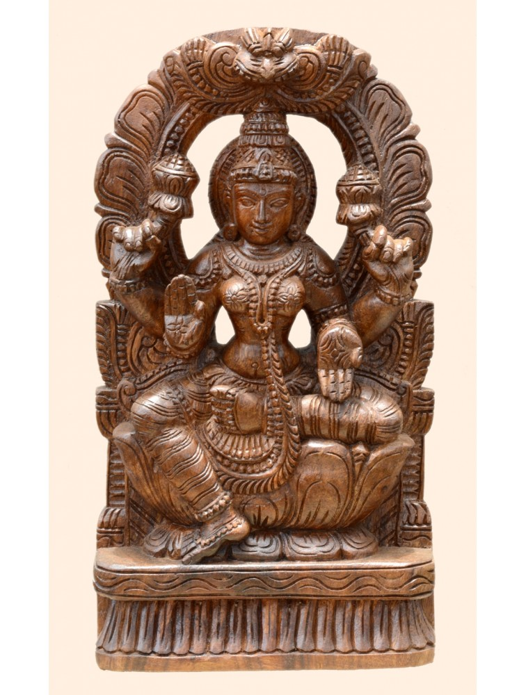 Goddess Lakshmi With Arc