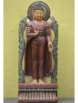 Lord Buddha Standing Shows  VITARKA Mudra (Gesture of discussion)