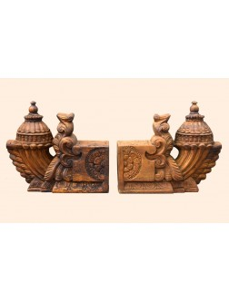 Wooden Bhodhil WallBrackets