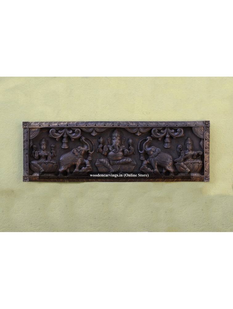 Buy Gaja Ganesha Wall Mounting Panel