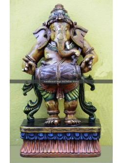 Lord Ganapathi as Dholak Wala