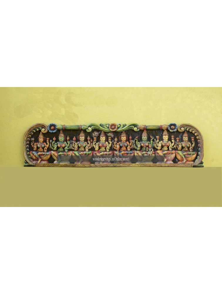 AstaLakshmi Wooden wall Floating panel