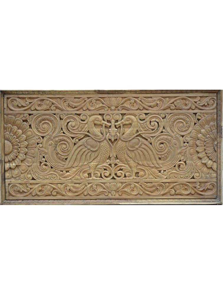 Detailed Annam Wall Mount in Teak Wood
