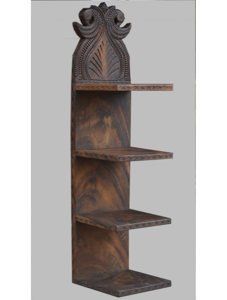 Carved Wooden Made Shelf