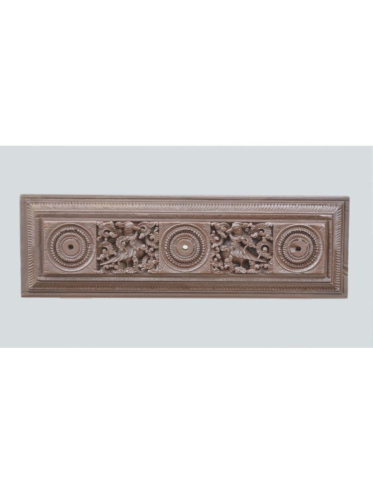 Chettinad Type Wooden Wall Mount Panel