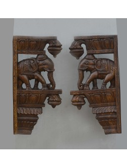 Elephant Wall Mount Brackets for Interior Decor