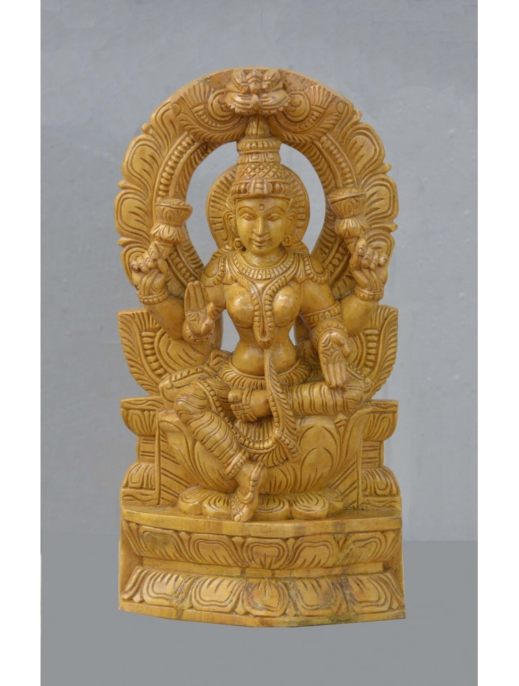 Goddess Lakshmi Showing Abaya Mudra