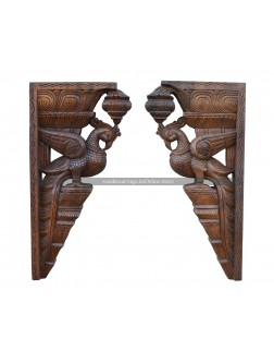 Buy An Wooden Parrot Wall Brackets