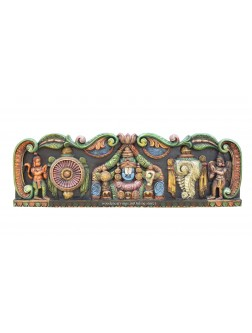 Wall Mount Of Thirumala Balaji With Hanuman And Garuda