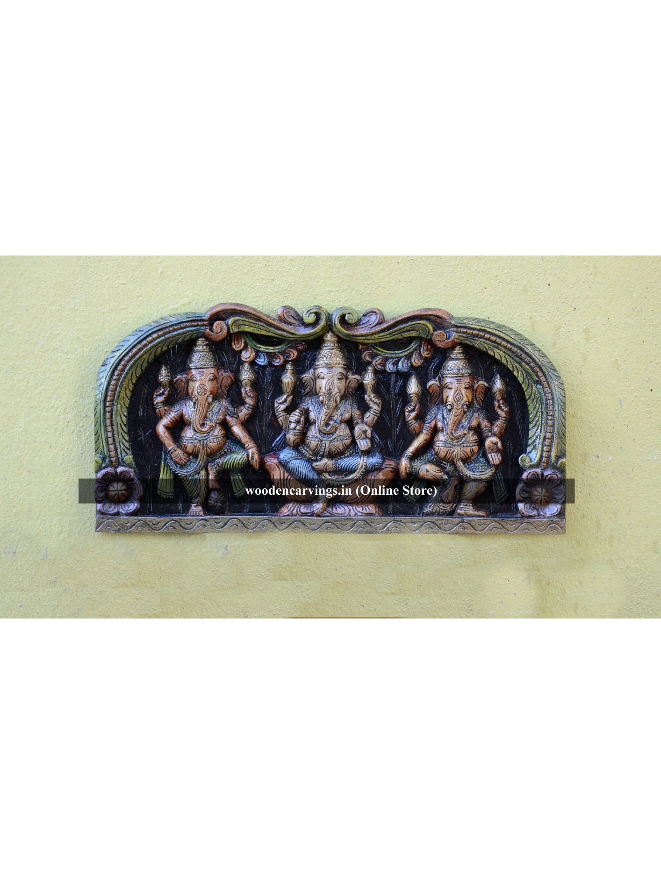 Buy Vibrant Ganpathi Wall mounting Panel